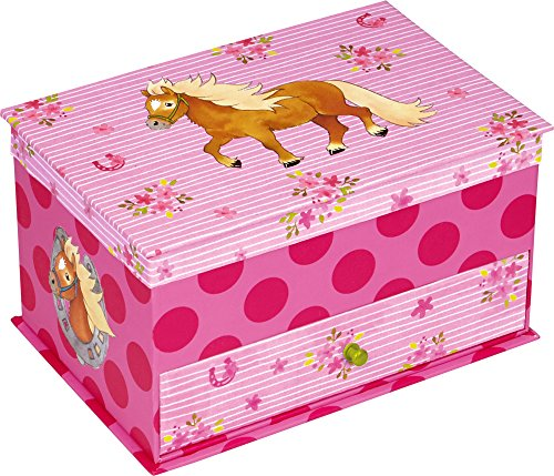 Die-Spiegelburg-14525-Mini-Comoda-Joyero-Color-Rosa-de-Lunares-Mi-Pequeo-Pony