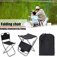 Starter Sillas plegables transpirables y cómodas al aire libre, silla de camping plegable ligera de aluminio portátil, perfecta para ir de excursión, el acampar, pesca, playa, al aire libre
