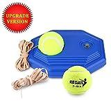 Tennis di Palla Formazione, 2 Palle e Corda in Gomma ad Alta Elasticità con Base Accessorio per Addestramento da Tennis