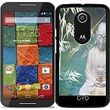Hülle für Motorola Moto X (Génération 2) - Buddha by
