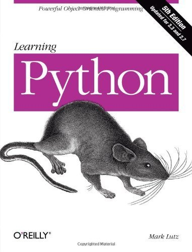 Learning Python, 5th Edition by Lutz, Mark (2013) Paperback