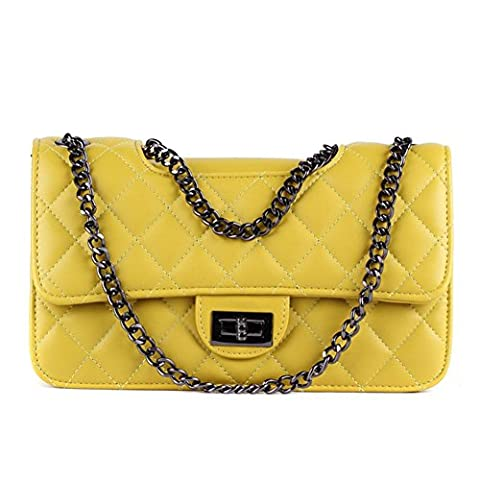 C.CHUANG Womens Fashion Cute Leather Elegant Chain Strap Small Shoulder Bag Handbag(C3)