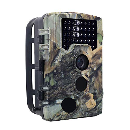 B&H-ERX Trail Camera,16MP 1080P Full HD Deer Hunting Game Camera,0.2S Motion Activated Wildlife Camera mit 46 PCS 850nm IR-LEDs Night Vision,2.4