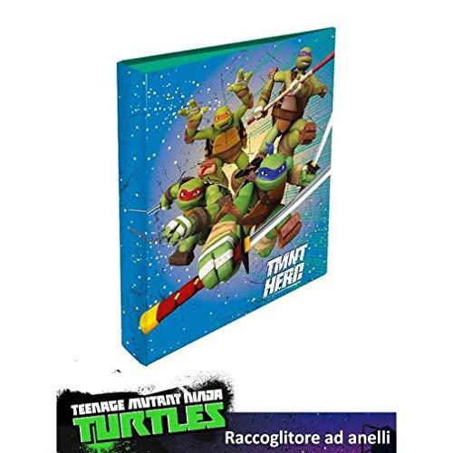 Tmnt turtles tartarughe ninja raccoglitore ad anelli a4