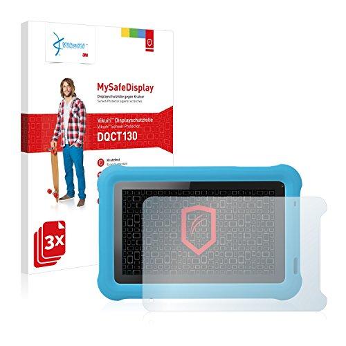 Vikuiti DQCT130 Medion Lifetab Junior Tab S7322 (MD 98957) Schutzfolie von 3M [3er Set] kristallklare Bildschirmschutzfolie Folie Bildschirmfolie