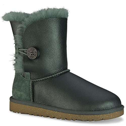 UGG 5991 Kid's Bailey Button, Mädchen Stiefel Pine Needle