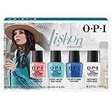OPI La Collection Lisbon Mini-Kit 4 Vernis à Ongles Nail Lacquer, 4 x 3,75 ml