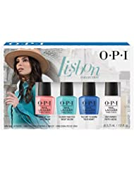 OPI Collection Lisbon Mini trousse 4 Vernis à Ongles 4 x 3,75 ml
