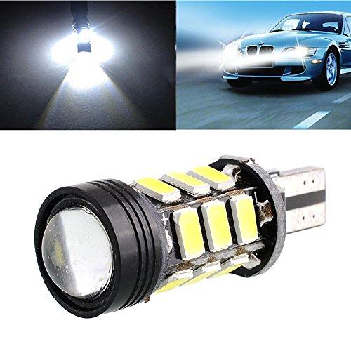 Leaftree T15 5630 SMD COB 15 LED Ampoule d'inversion Blanche de lumière de Voiture d'économie d'énergie de Voiture