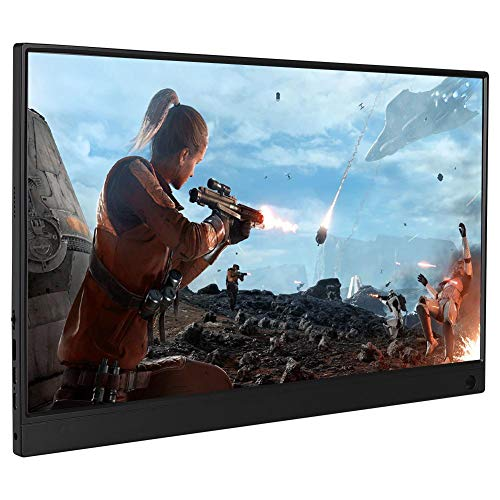 Denash Monitor Pantalla Táctil HD 15.6in 1080P HD