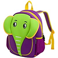 Kids Backpacks, icci [Cute] Kids Backpacks Girls Boys Toddler Backpacks Best [School] [Hiking] [Travel] Sidekick Bags, Cute Elephant Pack Backpacks, Green