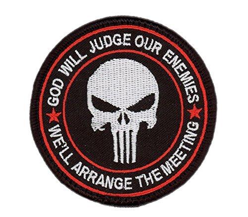 Hook Fastener Bleeding Red Special Forces Punisher Seal ODA Navy Tacticala Patch Taktish Klettband Aufnäher Von Titan One - Punisher Forces Special