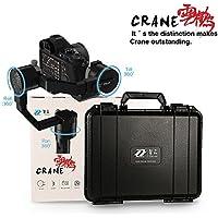 Zhiyun gru 3Axis brushless motore 360gradi fotocamera Gimbal per