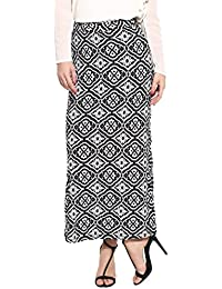 Campus Sutra Casual Women Straight Skirt