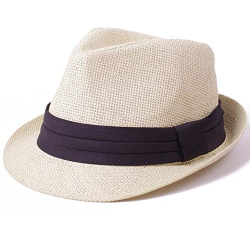 Le chapeau masculin summer Jazz/Chapeau de paille/Holiday Sun Hat/Chapeaux de plage N
