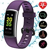 Updated 2019 Version Fitness Trackers HR, Activity Trackers Health Exercise Watch with Heart