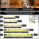 Hundehalsband Halsung aus Air-Mesh verschiedene Farben und Größen XS, S, M, L, XL: verstellbar, leicht, atmungsaktive, gepolstert, luftdurchlässig, soft, weich, stark, stabil, farbig, für große und kleine Hunde (Leine und Geschirr separat erhältlich) (Farbe Schwarz, Größe XS – 1,5 x 21-30 cm) - 6