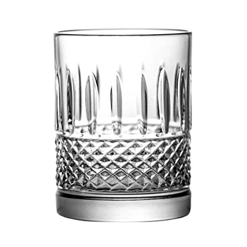 Crystelle aljulia 9195 Thé Verre, Cristal, 120 ML, 5,5 x 5,5 x 8 cm, 6 unités