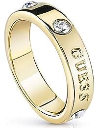 Guess Anello da fidanzamento promessa matrimonio Donna ottone - UBR84029-54