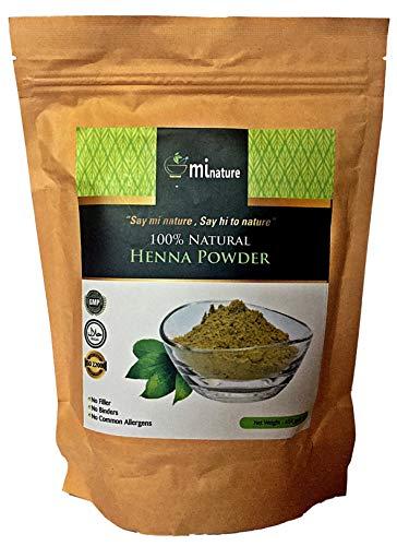 100% natürliches Henna-Pulver XXL 454 g Jumbo-Ökobeutel von Lawsonia Inermis GMP Halal FDA Cert 100% Premium Grade