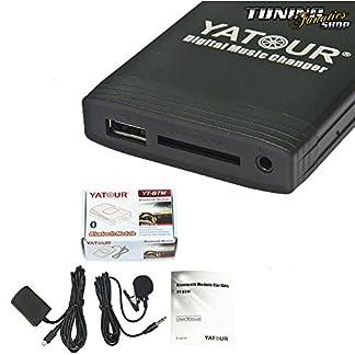 Bluetooth-USB-SD-MP3-Freisprecheinrichtung-12-Pin-Radio-RCD-300-310-500-510