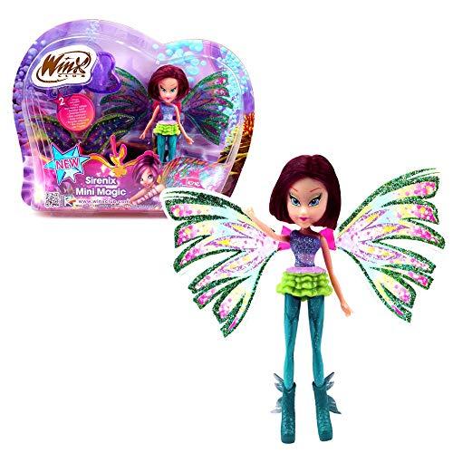 Tecna | Sirenix Mini Magic Bambola | Winx Club | Fata con Trasformazione 12 cm