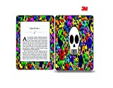 Elton 3M Vinyl Skin Decal Sticker Protective for Kindle Paperwhite eBook Reader Wrap Cover Skin Color Skull