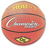 Champion Sports : Basketball, Rubber/Nylon, No. 7 Size, Orange -:- Sold As 2 Packs Of - 1 - / - Total Of 2 Each