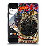 Official Mad Dog Art Gallery Pug Dogs Soft Gel Case for