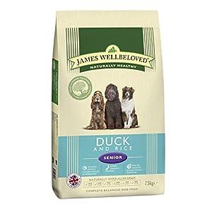 James Wellbeloved Senior Duck & Rice 7.5kg from HGGA4