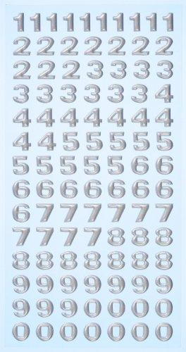 Creapop-SOFTY-Stickers-Zahlen-silber-3451119