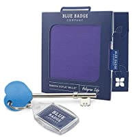 Purple Disabled Badge Parking Permit Holder with Timer Clock and RADAR Toilet Key by Blue Badge Company