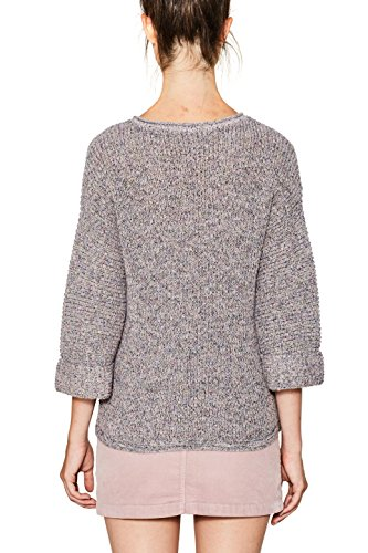 edc by ESPRIT Damen Pullover Mehrfarbig (Pastel Pink 695)