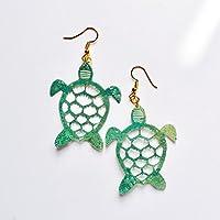Schildkröten Ohrringe - Meer Liebhaber Ohrringe - Trending Schmuck - Grüne Schildkröten Schmuck - Meeresschildkröten - Neuheit Baby Schildkröten Ohrringe