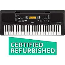 (CERTIFIED REFURBISHED) Yamaha PSRE363 61-Key Touch Sensitive Portable Keyboard