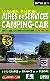 le guide officiel aires de services camping car 2015