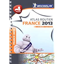 Mini atlas France 2013 - spiral (Michelin Tourist and Motoring Atlases) by Michelin (2013-01-11)