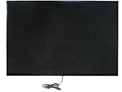 INROT Heiz Systeme, wasserdichte Teppichheizmatte 80 x 120cm, 280 W, - Carbon Entflammbar X-schwer