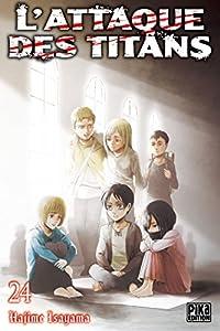 L'Attaque des Titans Edition simple Tome 24