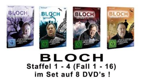 Bloch - Die Fälle 1-16 (8DVDs)