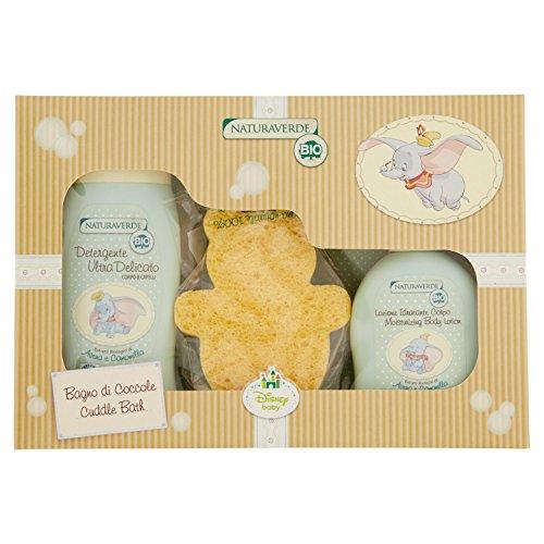 Naturaverde bio - prodotto per neonato e prima infanzia - disney baby cofanetto bagno di coccole - 590 g