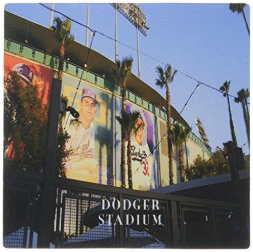 3drose LLC 20,3x 20,3x 0,6cm Maus Pad, vor Dodger Stadium California (MP _ 100744_ 1)