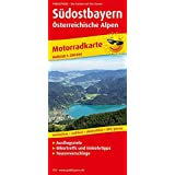 Südostbayern - Österreichische Alpen: Motorradkarte mit Tourenvorschlägen, Ausflugszielen, Einkehr- & Freizeittipps, reissfest, wetterfest, abwischbar, GPS-genau. 1:200000