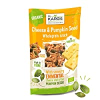 ‏‪Dr Karg Cheese and Pumpkin Seed Whole Grain Snack Organic - 110 gm‬‏
