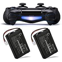 CELLONIC 2X Batería Premium para Sony PS4 Dualshock 4, Playstation 4 Controller (1300mAh) LIP1522 bateria de Repuesto, Pila reemplazo, sustitución