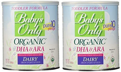 Baby's Only Organic Dairy with DHA & ARA Formula,...