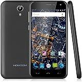 "Homtom HT3 Pro - 4G Smartphone Móvil Libre Android 5.1 (5.0"" HD Pantalla, Dual Sim, Quad Core 1.3Ghz, 16Gb Rom, 2Gb Ram, Smart Wake, Multi-Idioma) (Negro)"