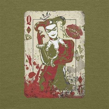 Texlab–Harley Queen–sacchetto di stoffa Oliva