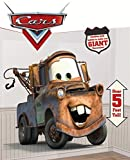 Disney Cars Riesen - Poster/ Tapete / Folie / Wand -Tattoo als bunte Dekoration - Scene Setter - Hook