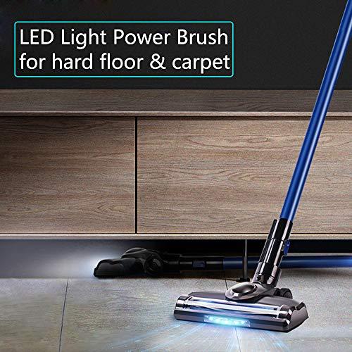 Akku Staubsauger mit LED-Powerbürste Bild 5*